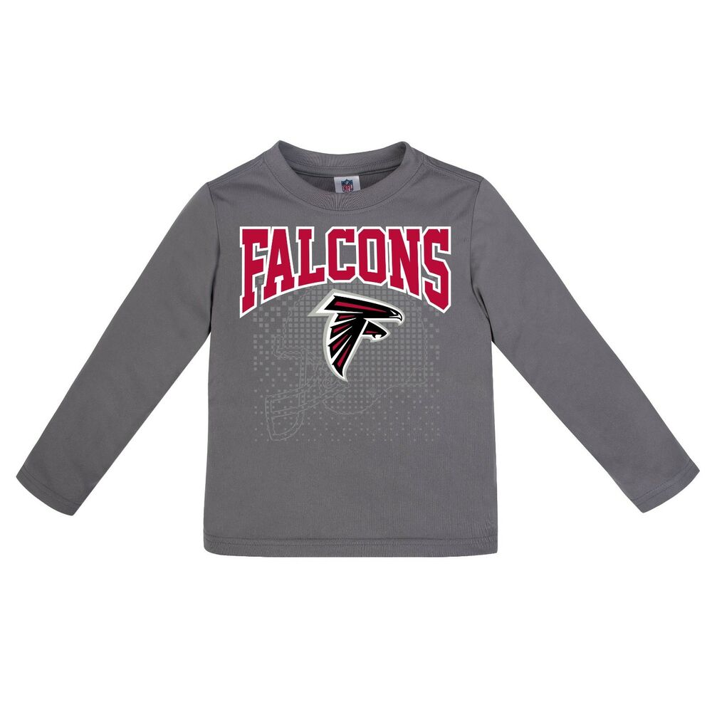 Atlanta Falcons Performance Baby Toddler Shirt, Long Sleeve Gerber  for sale