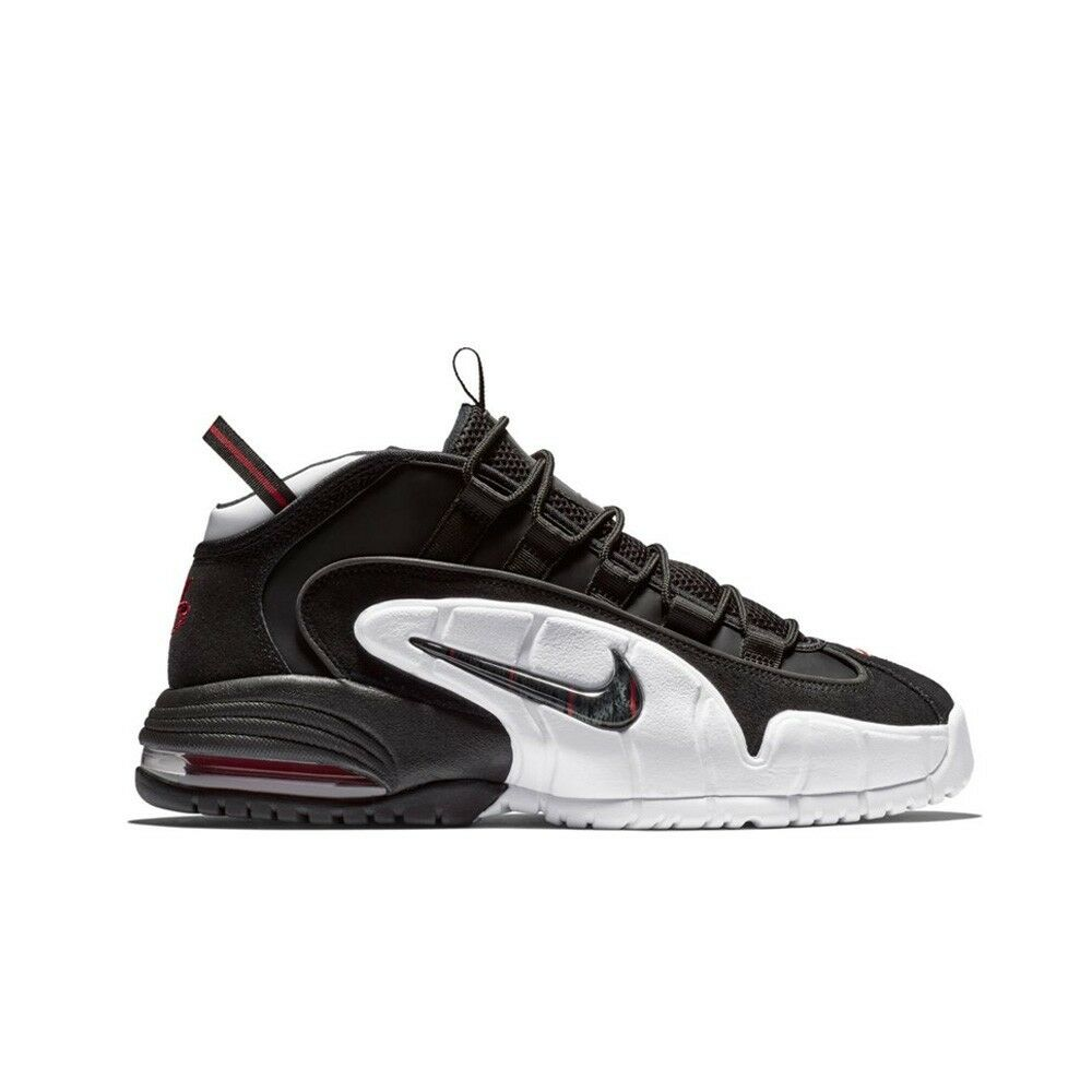 1bee17a205 Details about Nike Air Max Penny (Black/Black-White/University Red) Men's  Shoes 685153-003
