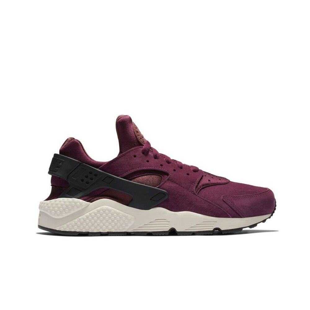 cc59e6b2b960b Details about Nike Air Huarache Run PRM (Bordeaux Black-Light Bone) Men s  Shoes 704830-603
