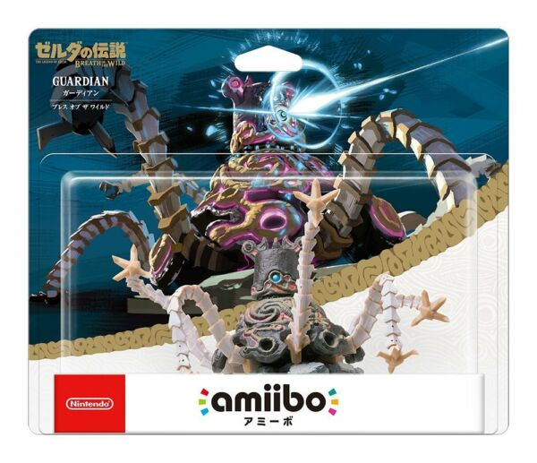 Nintendo Amiibo Guardian The Legend of Zelda Breath of Wild Switch