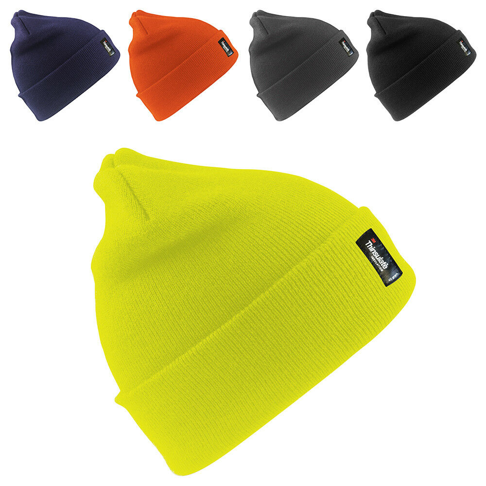 80d60a9ad55 Details about New RESULT Adults Wooly Thinsulate Insulation Ski Beanie Hat  5 Colours One Size