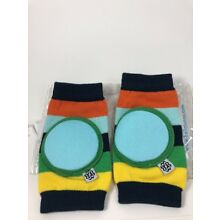 Baby Crawler Kneepads Happy Knees by Bella Tunno Gumball Stripe Navy