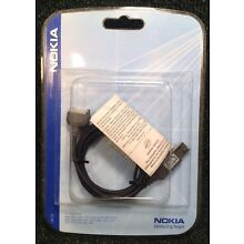 Nokia CA-53 Data Cable New In Package for various Nokia phones- see description