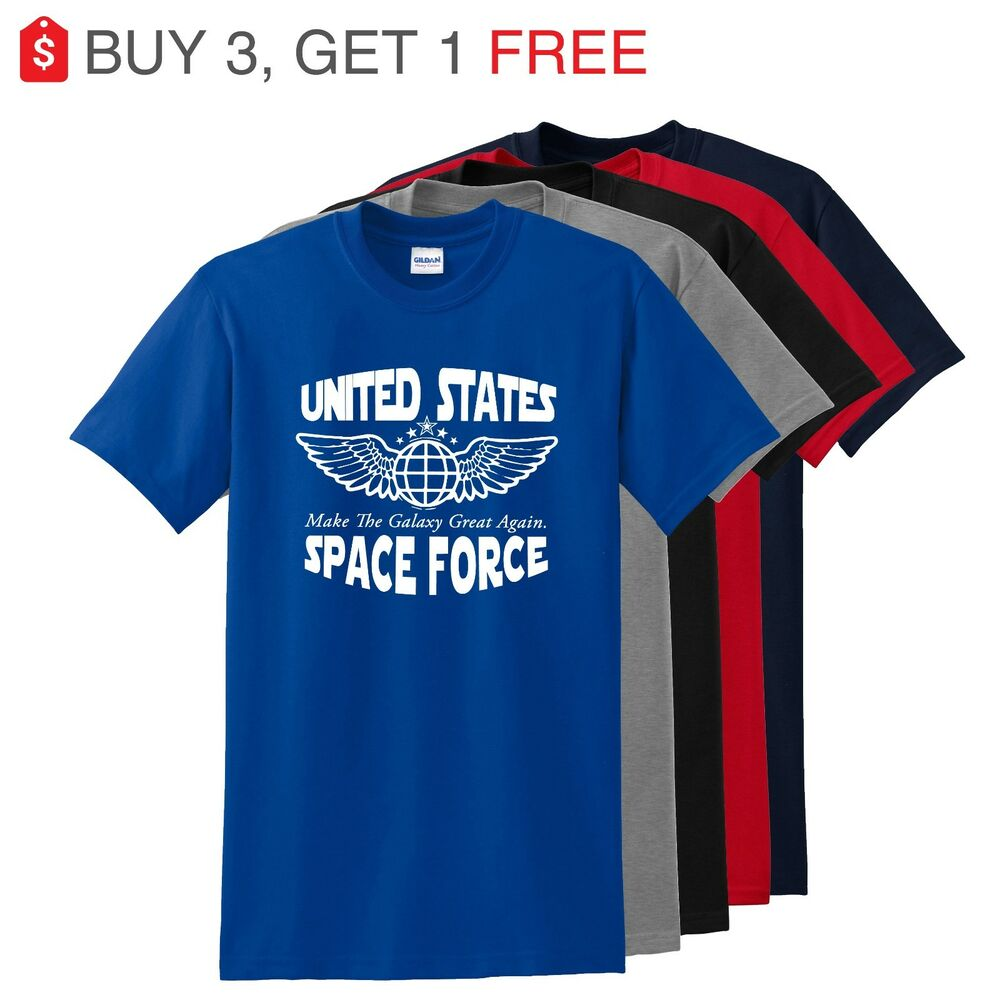 97142ffdf3 Details about United States Space Force Shirt Make the Galaxy Great again  Donald Trump Shirt