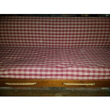 Vintage workers rope wood day bed 6 feet long 72