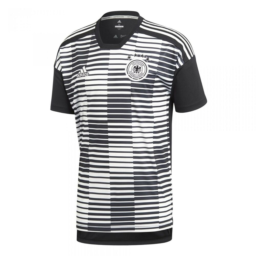 Details about Adidas Mens Germany World Cup 2018 Football Pre-Match Jersey  Soccer Shirt CE6632 ab9f082fa