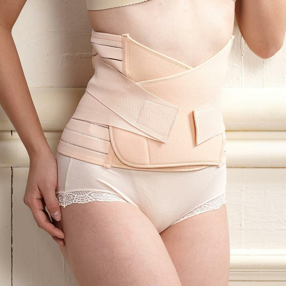e7c6b97328 Details about Woman Postpartum Belt Belly Wrap Body Shaper Support Recovery  Girdle After Birth