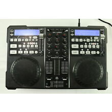 American Audio CK-1000 DJ MP3/CD Player Mixer W/ Power Cord - (READ)