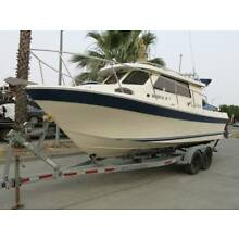 2007 Skagit Orca 24 Pilot House fishing boat project 07 Clean Title Engines run