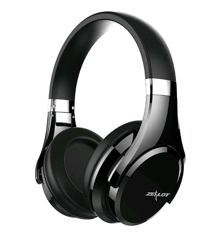 f898b827419 Details about Wireless Headphones ZEALOT B21 Touch Panel Bluetooth Over-ear  with Mic Deep Bass