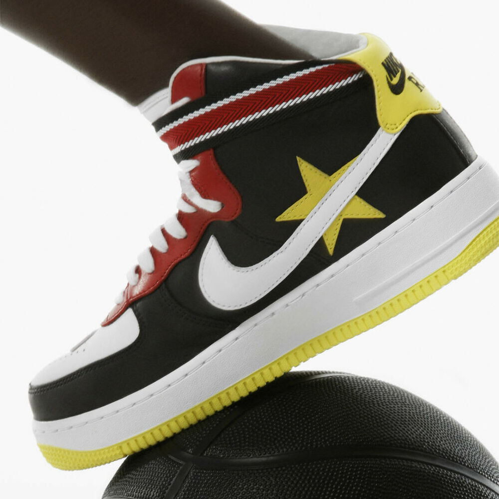 new concept 76e17 3a9e6 Details about NIKE Riccardo Tisci NikeLab Air Force 1 High Sneakers  Victorious Minotaurs 5.5