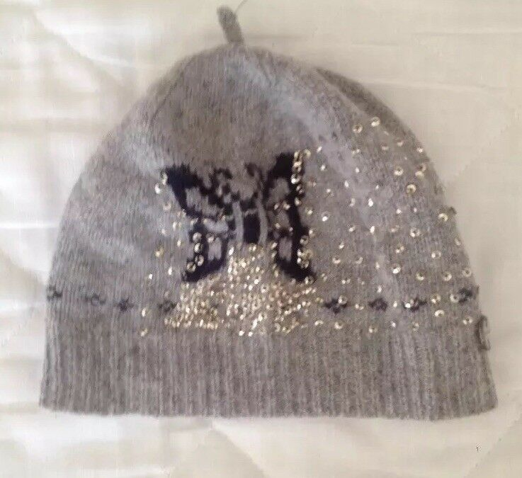 d93968e5 Children girls beanie hat Lambs Wool Angora By Ted Baker | eBay