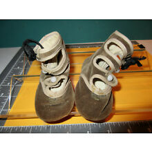 ANTIQUE VICTORIAN HI-TOP BABY/TODDLER SHOES GIRLS W.LEATHER SOLES+PEARL BUTTONS