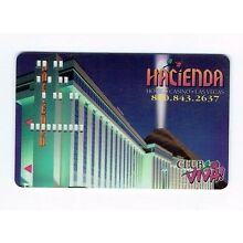 HACIENDA Las Vegas Casino SLOT CARD Players Club Card - Property View