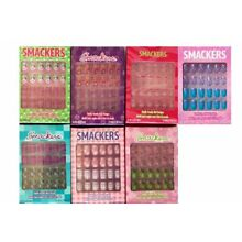 Smackers Stick Press On Pre Glued Artificial Nails Girl Choose Your Style Design