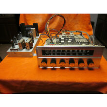 Curtis Mathes 6bq5 amp push pull stereo tube amplifier and tuner