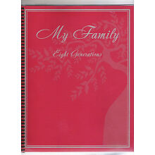 Genealogy Family Tree Ancestry History Record Lineage Chart Workbook Ancestor
