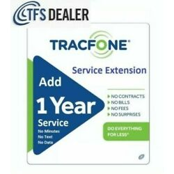 Kyпить TracFone Service Extension 1 Year / 365 Days For All Phones - Load Within Hours на еВаy.соm