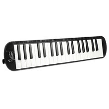 ABS 37 Key Black Melodica Harmonica & Exclusive Carrying Case