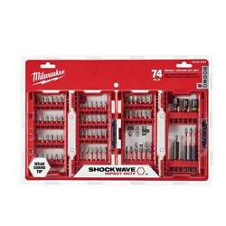Kyпить Milwaukee 48-32-4062 74-Piece Heavy-Duty Shockwave Impact Driver Bit Set на еВаy.соm