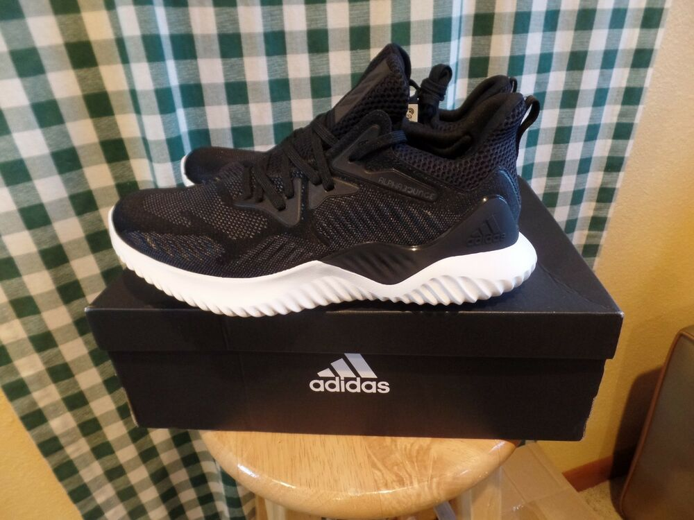 650094fdb Details about adidas Alphabounce Beyond M Bounce Black White Men Running  Shoes AC8273 size 9