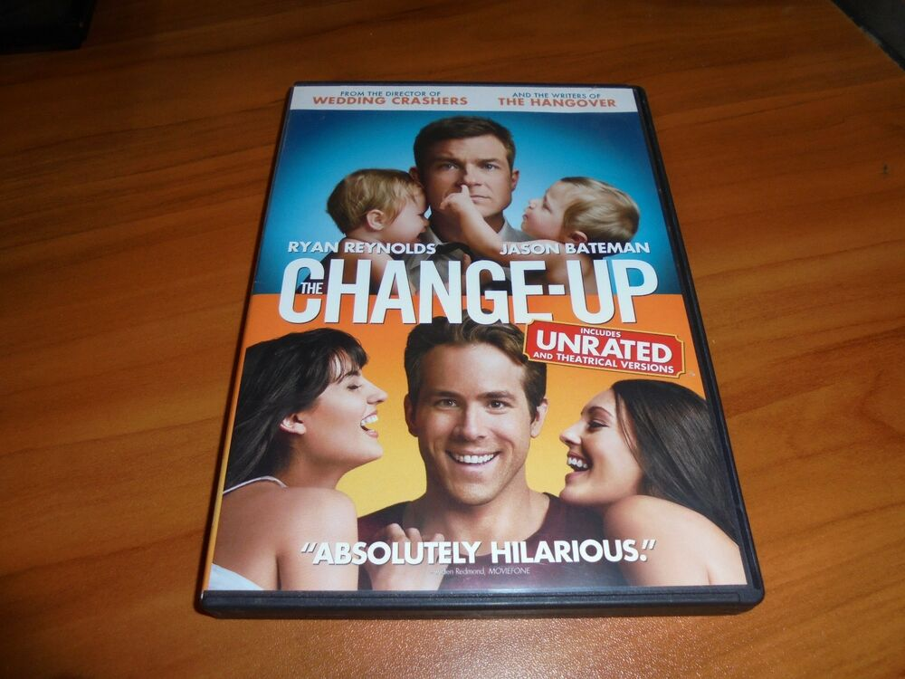 Details About The Change Up Dvd 2011 Widescreen Unrated Jason Bateman Ryan Reynolds Used