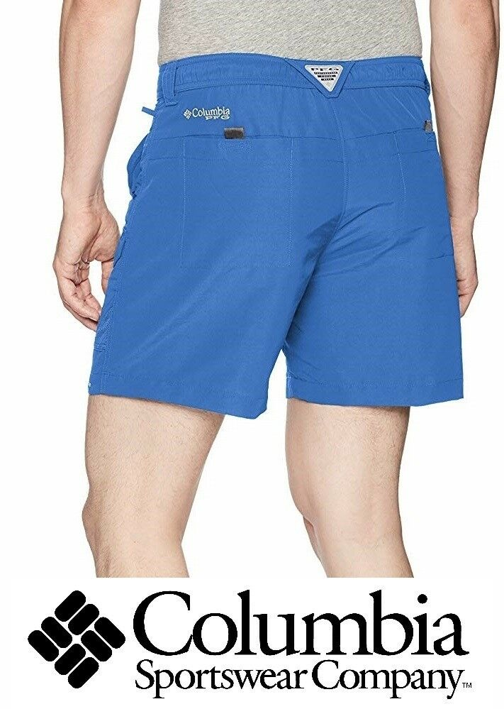 d0247266ee9 Details about NEW Men's Columbia Permit II Shorts Fishing Gear UPF 30  Elastic Back Waist Sz 40
