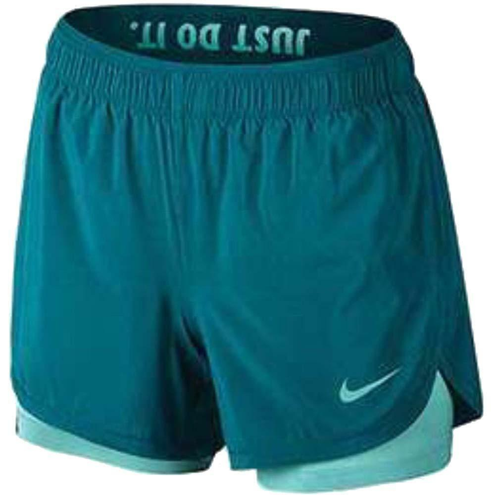 Details about Nike Dry Women s 2 in 1 Flex Training dri-fit Shorts AH8478  467 size Medium New c85eb97ad601a