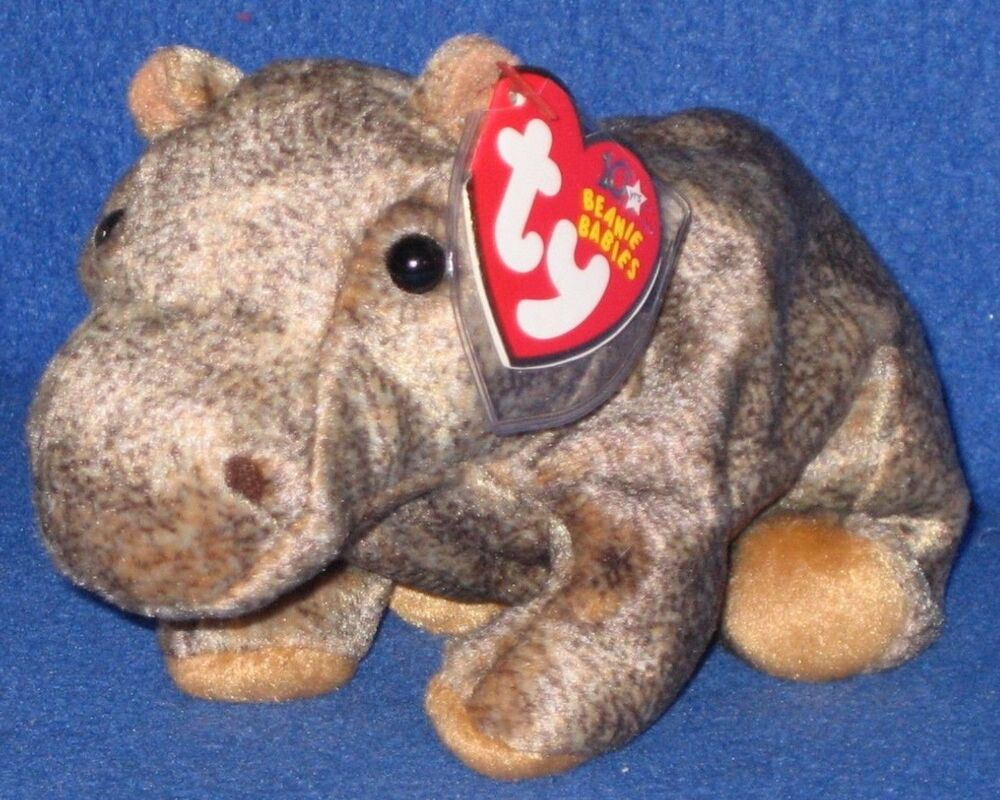 28686c26219 Details about TY TUBBO the HIPPO BEANIE BABY - MINT with MINT TAGS
