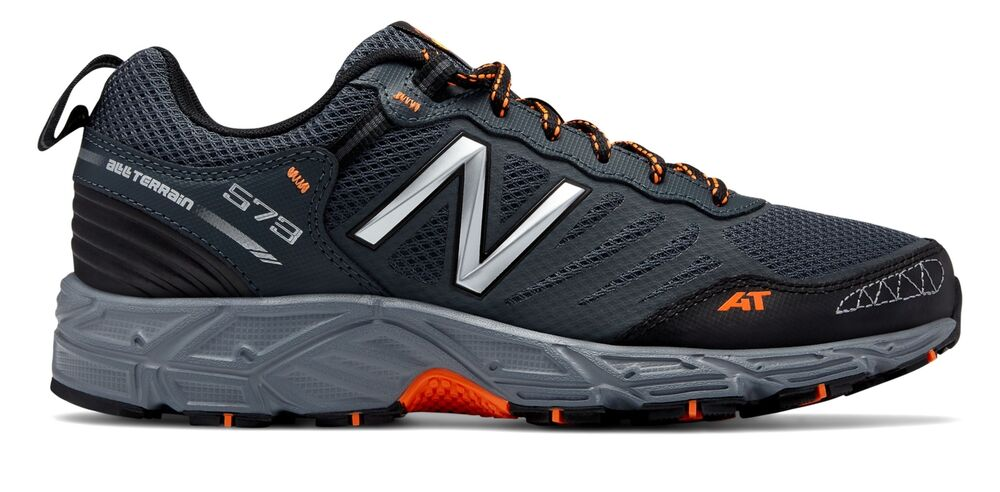 cc33c3515683 Details about New Balance Male Men s 573 Trail Mens Running Shoes Training  Grey With White
