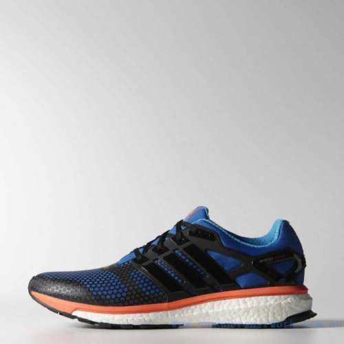 save off 9911d 11ba4 Details about Adidas Energy Boost 2 ATR m Blue Orange M18752 Running Shoes  Sizes Inside
