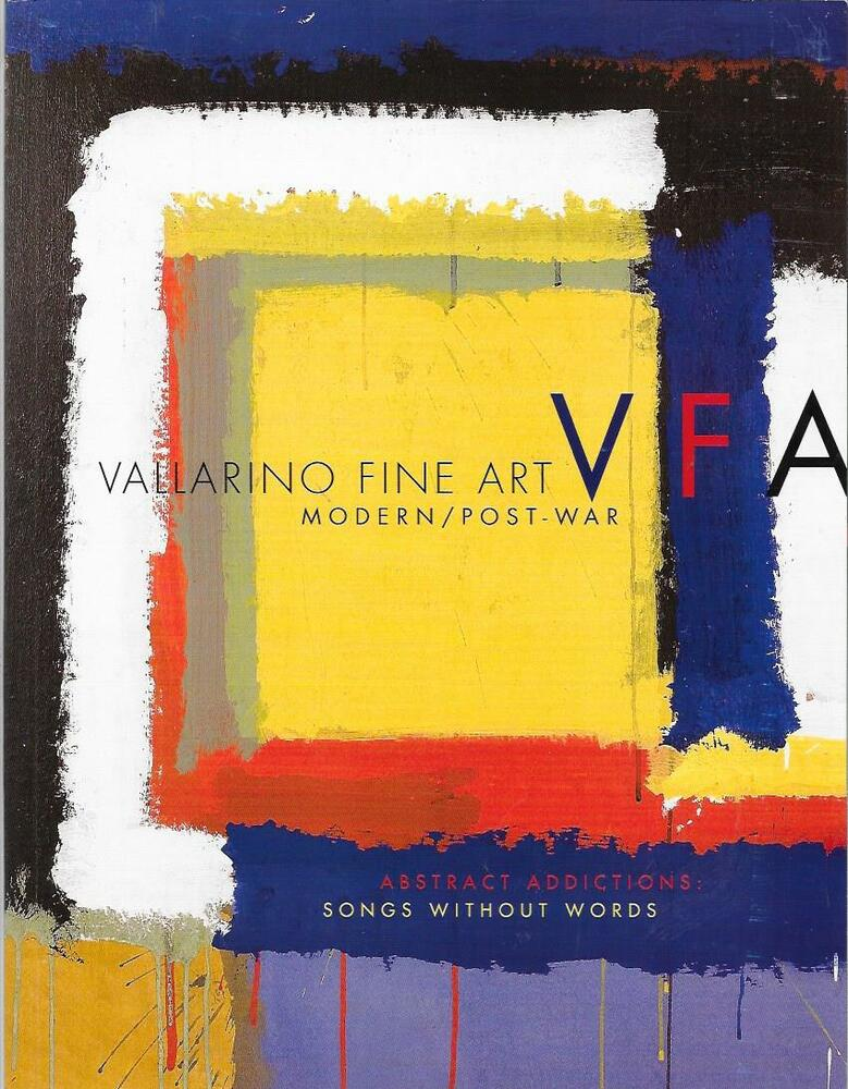 Vallarino Fine Art / Abstract Addictions Songs Without Words Catalog 2018    eBay