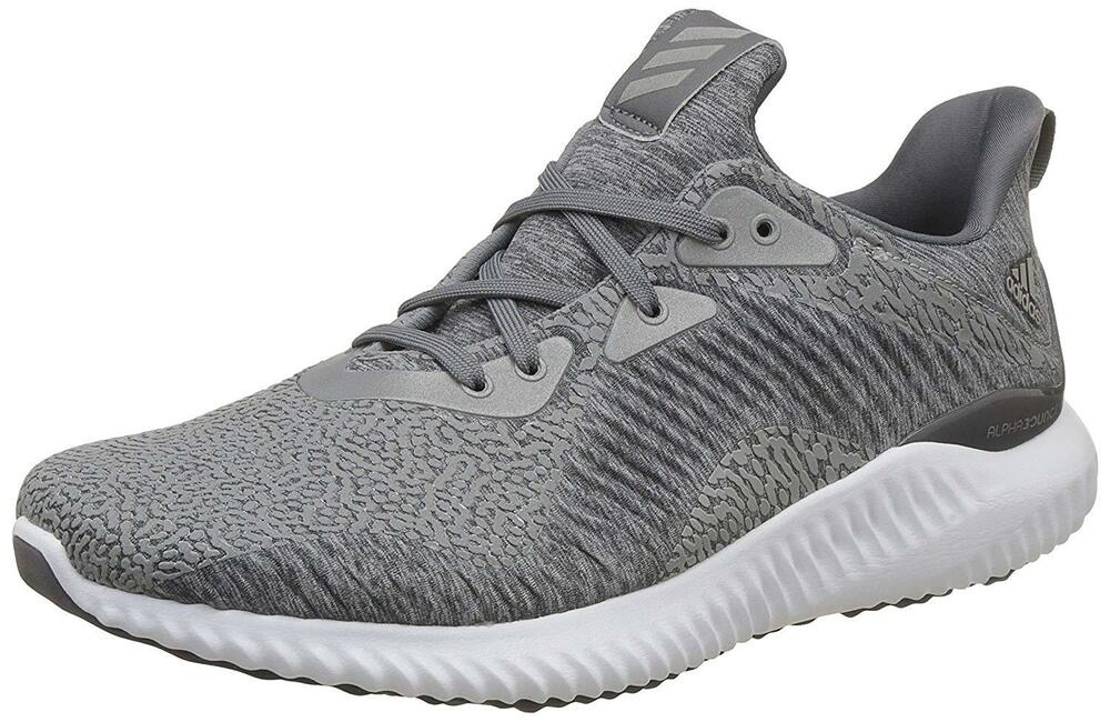 detailed look 87789 142c4 Details about NEW Adidas Alphabounce HPC Aramis Mens Running Shoes Gray  White BY4327