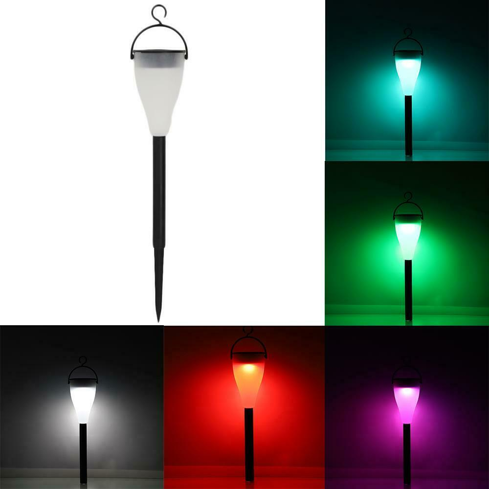 Details About New Color Changing Solar Lights Lamp Outdoor With 7 Colors And 3 Light Modes