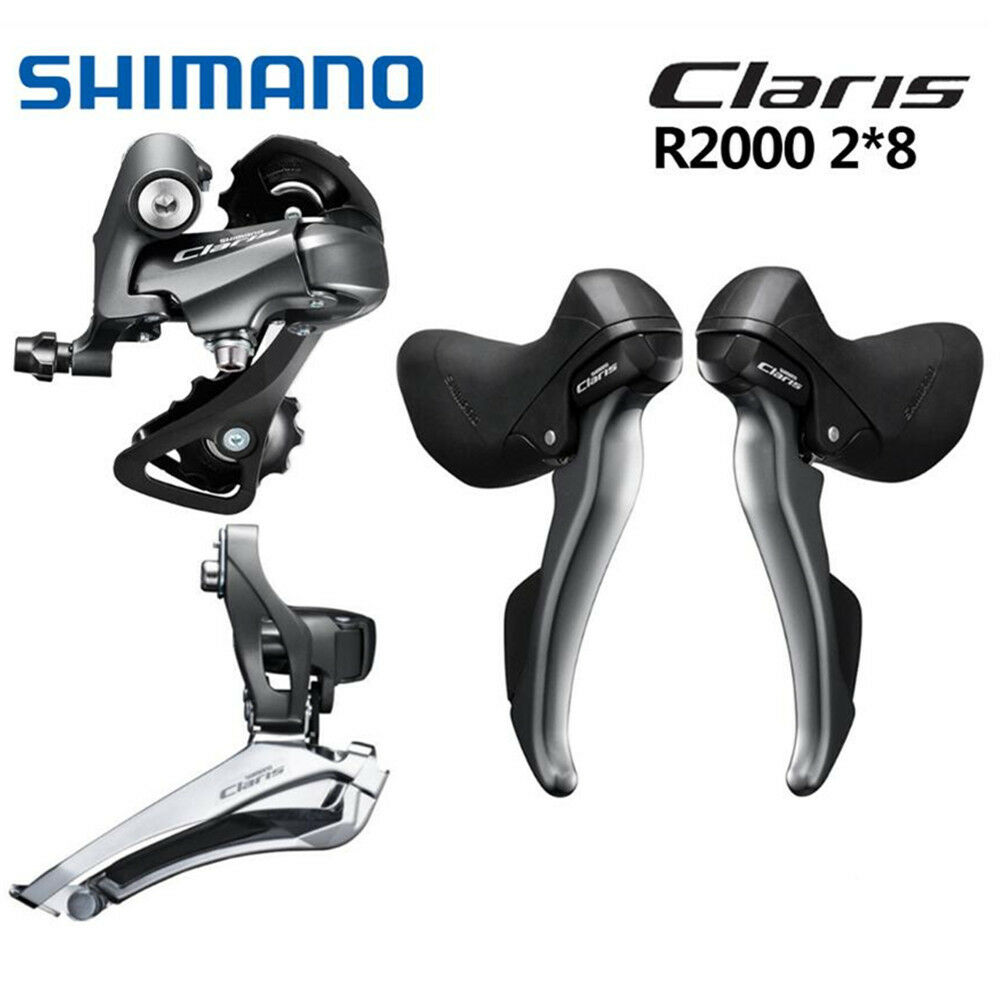 bb7a13db537 Details about Shimano Claris R2000 Groupset 2x8 Speed Road Bike STI  Derailleur Mini Set Clamp