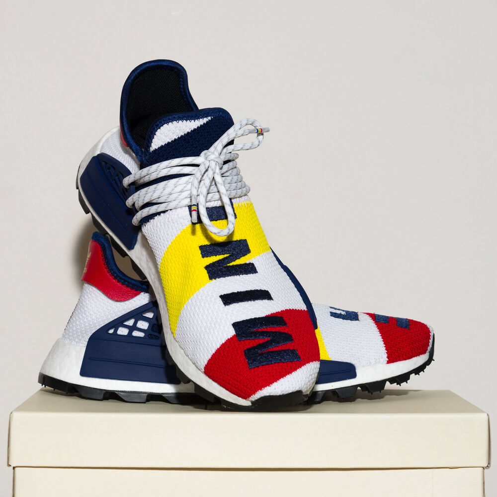 89203b2db0 Details about PHARRELL WILLIAMS BBC HU NMD SHOES - Size 8 UK