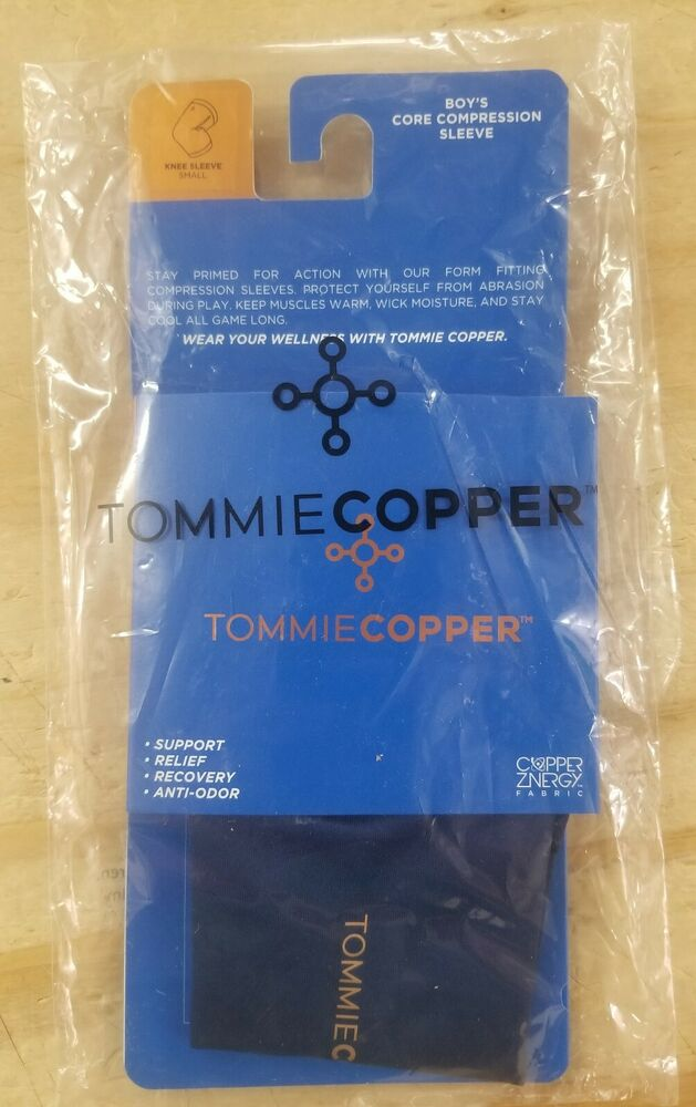 41996933c60dfe Details about Tommie Copper Boys Core Knee Sleeve, Sleeves, *Select Size  and Color*
