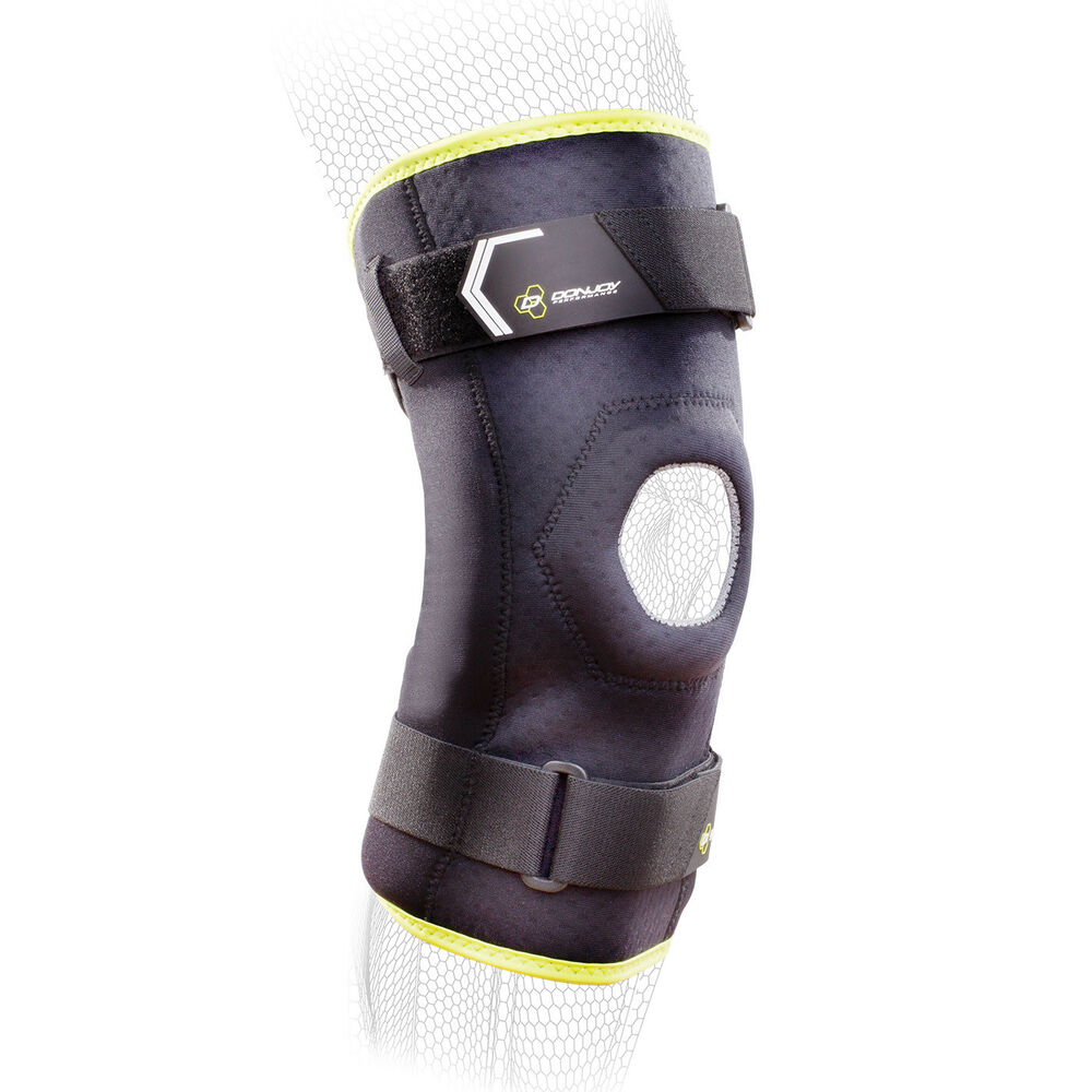 16f94050e5 Details about DonJoy Performance Bionic Comfort Hinged Knee Brace