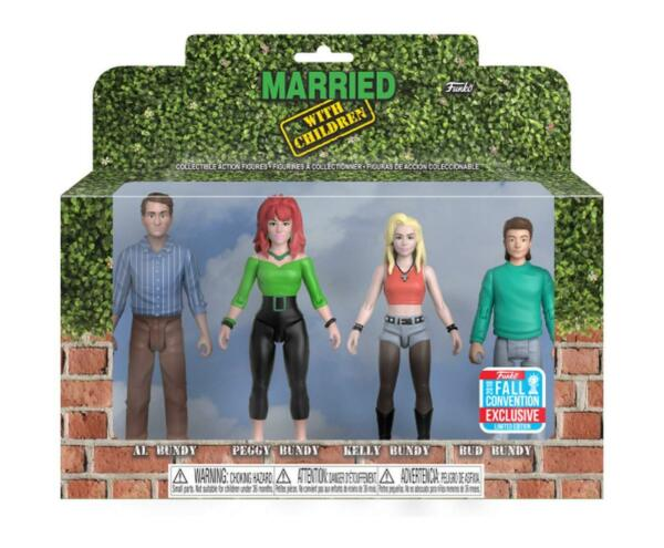 FUNKO POP! Married With Children LTD 2018 NYCC Exclusive - CASEPACK STOCK!