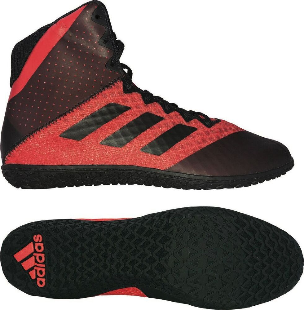 Details about Adidas Mat Wizard 4 Wrestling Boots Adult Mens Womens Red  Boxing Shoes Gym Foot feb251510