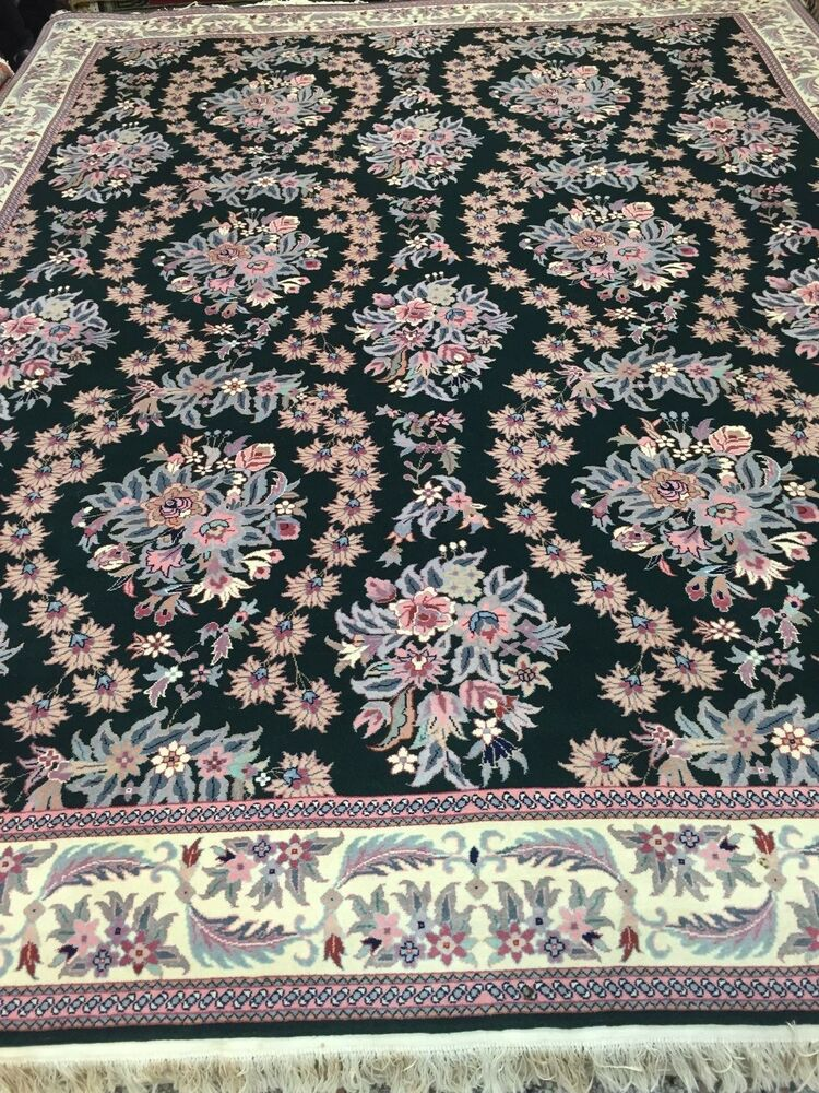 8 X 10 New Sino Chinese Oriental Rug Hand Made 100 Kork Wool