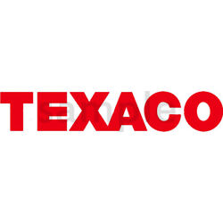 5 INCH TEXACO GAS / OIL DECAL RED
