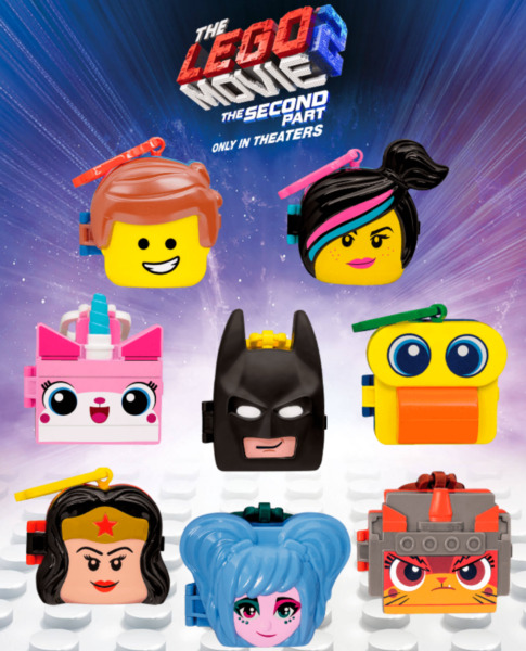 2019 McDonald's Lego Movie 2 Happy Meal Toys SEALED Pick Your Favorite Toy!