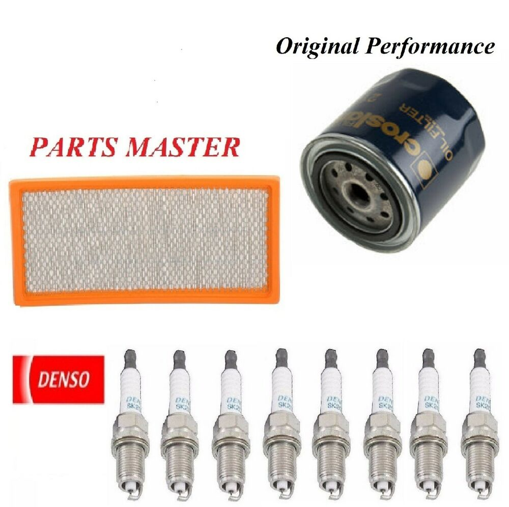 Tune Up Kit Filters Spark Plugs For DODGE DURANGO V8; 4.7L