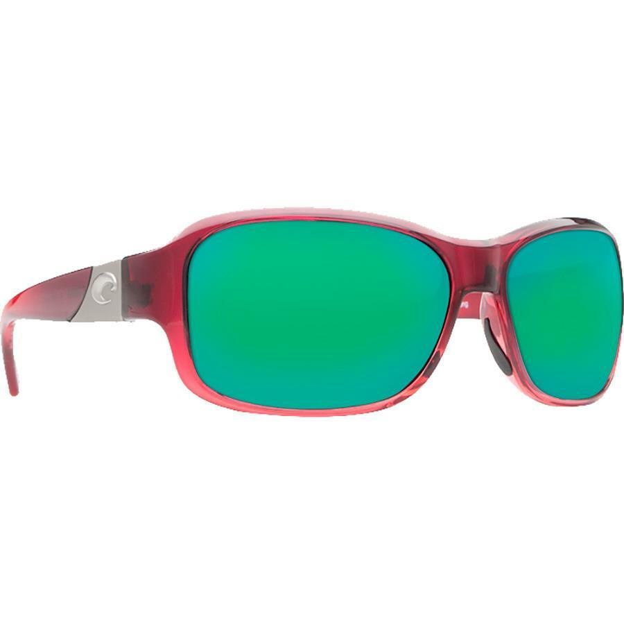 bab51345f0d Details about New Costa del Mar Inlet Polarized Sunglasses  Pomegranate Green Mirror 580P