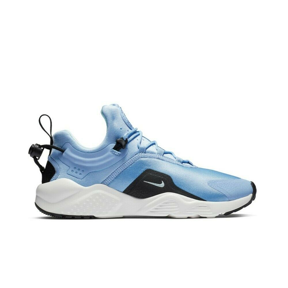 new style a2e00 84323 Details about Nike Air Huarache City Move (Aluminum Teal Tint-Black-Summit  White) Women s Shoe