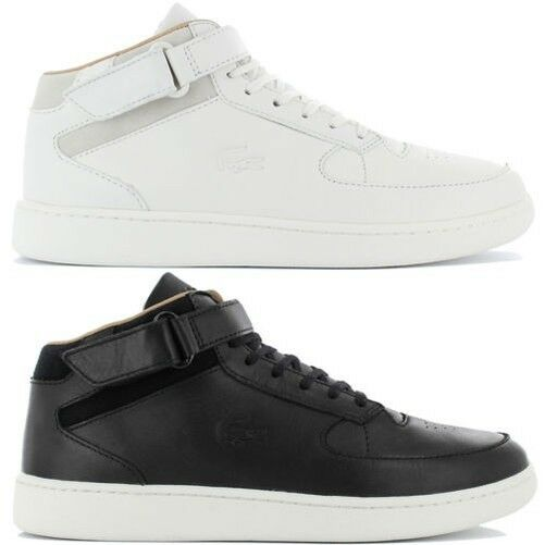c26f58458 Details about Lacoste Turbo mid Srm Shoes Men s Leather Sneakers Leisure 2  116 316 416 New