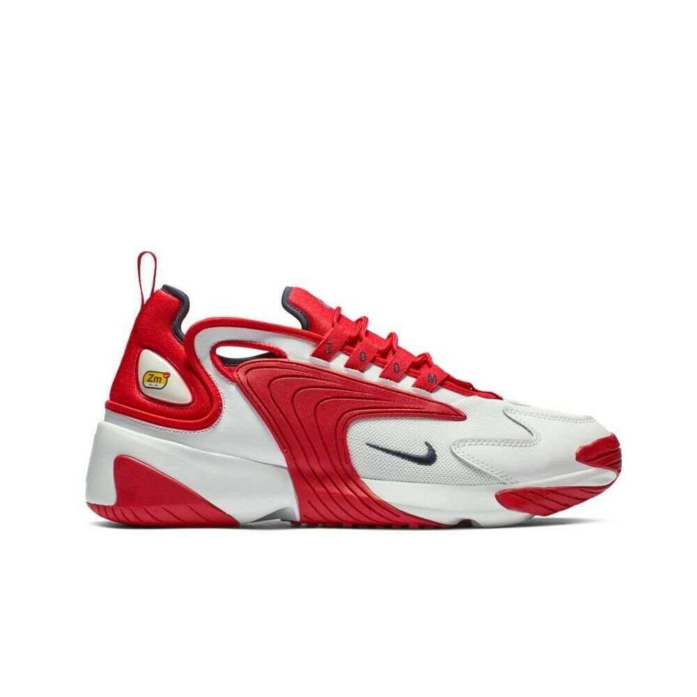 b6d4cd1b3e9a Details about Nike Zoom 2K (Off White Obsidian-University Red) Men s Shoes  AO0269-102