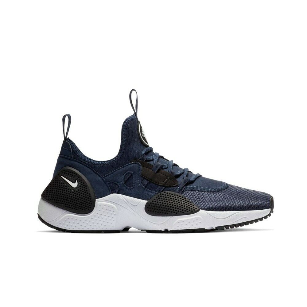 3b129a9c4cb0 Details about Nike Huarache E.D.G.E TX (Midnight Navy White-Black) Men s  Shoes AO1697-400