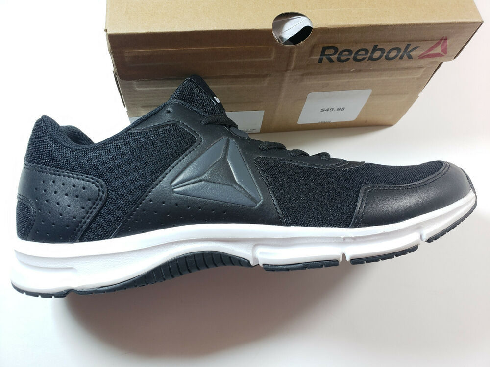 Details about Reebok Men s Express Runner Shoes Black Coal White Athletic  Sneakers BD5777 88c9d0e2f